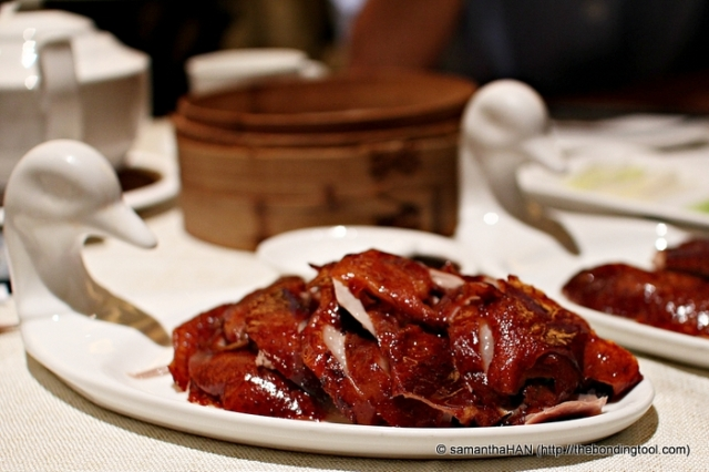 This was the third portion, the dark meat of the duck, also my favourite. The skin here were not lean. They had a layer of fats which kept the lower torso and thigh meat moist and juicy.
