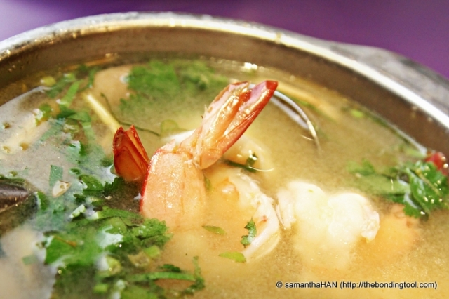 "Soup Dish - Tom Yum Goong. Food photos need not be displayed ""whole"" all the time. I didn't knew about that back then."