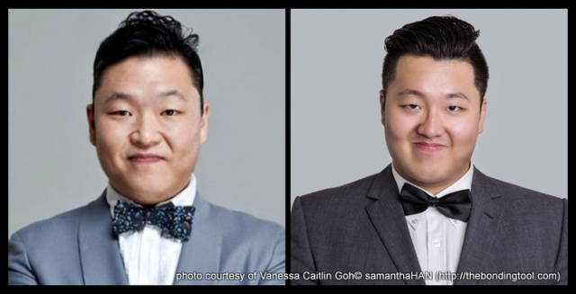 Do they look alike? Psy vs Sam Poh.