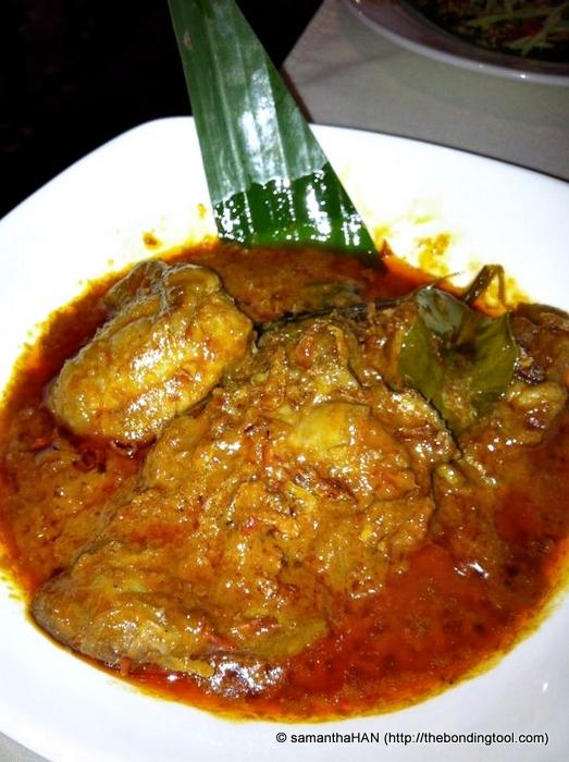 Chicken Rendang.
