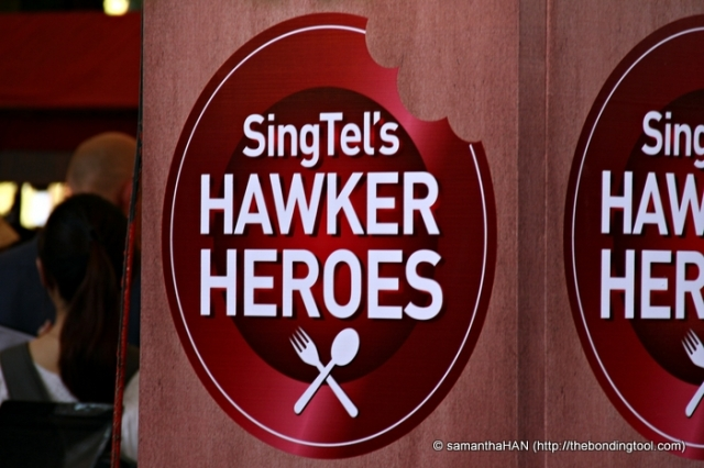 The Singtel Hawker Heroes Challenge.