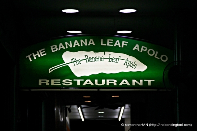 The Banana Leaf Apolo is still my favourite.