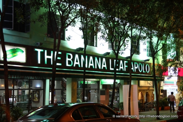 The Banana Leaf Apolo Restaurant was founded about 40 years ago.