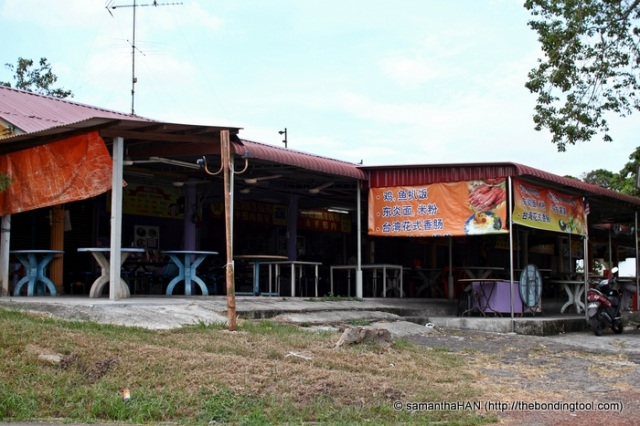Yong Peng Coffee Shop where Mr. Wong's stall is located.