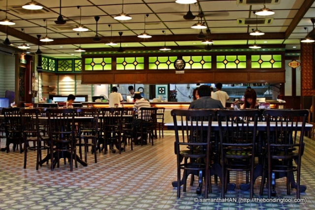 Inside Tea Garden, the place seemed to be Peranakan (Straits Chinese) in style.
