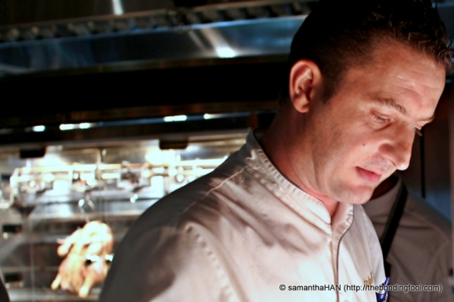 Stéphane Istel, the former executive chef of db Bistro Moderne in the Marina Bay Sands (MBS), Singapore.
