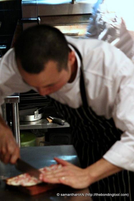 Bar-Roque Grill's Sous Chef, Alex.