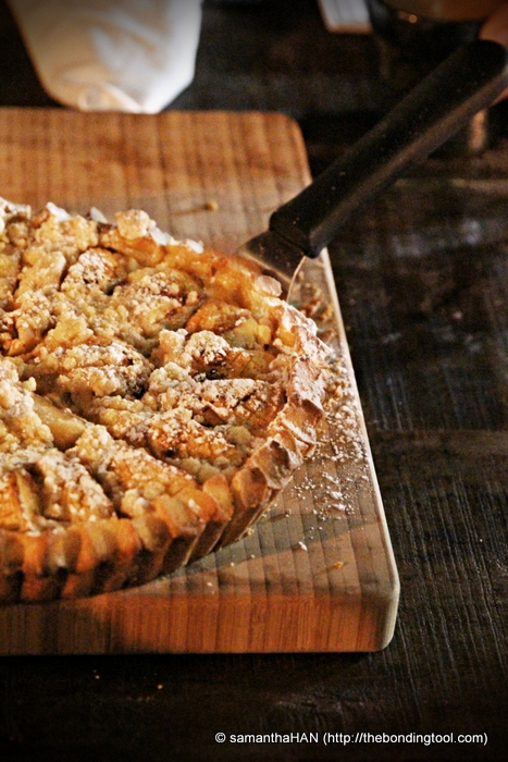 That's right! Chef Istel's mom's inspired Apple Pie.