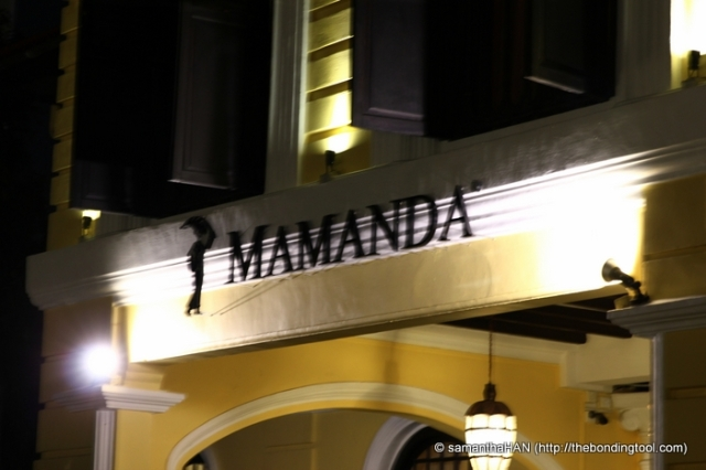 Mamanda® is located within the historical Kampong Gelam district at the Gedung Kuning.