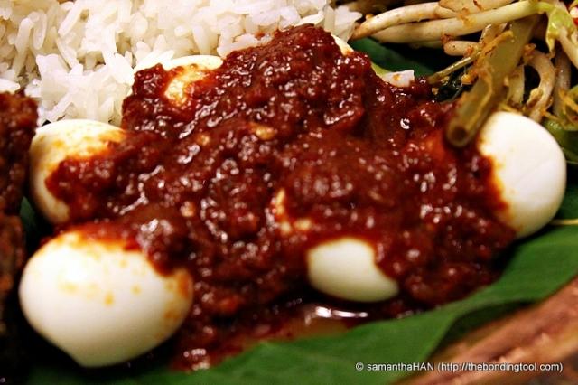 Sambal Telur Pindang (Quail Eggs in Sambal)