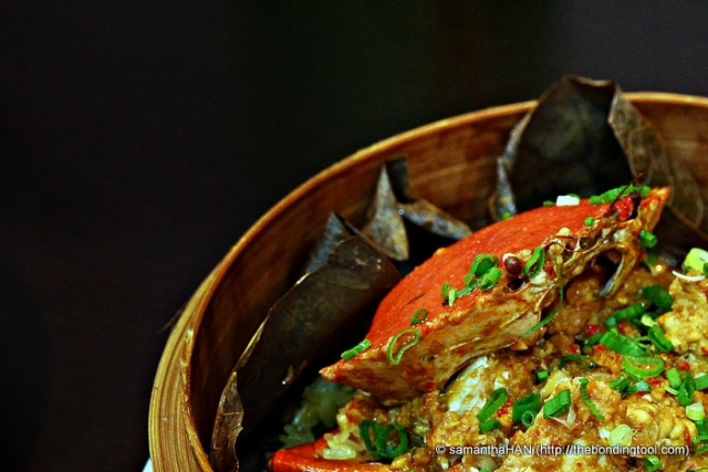 Curried Crab with Glutinous Rice