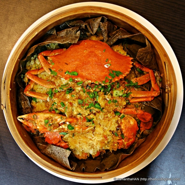 Curried Crab with Glutinous Rice - S$32