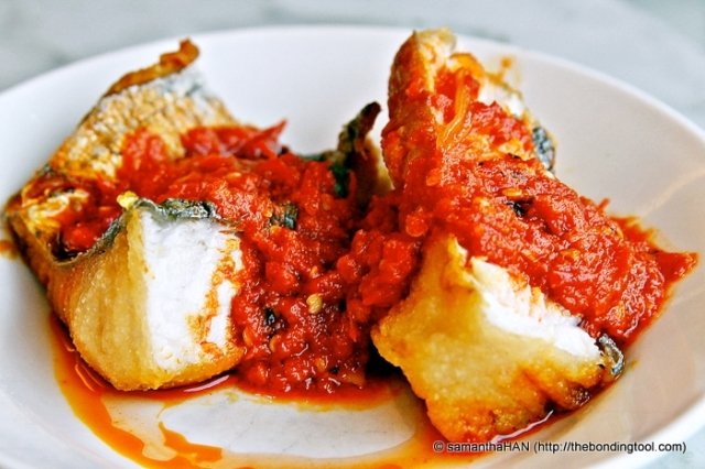 Sambal Fried Fish S$4.50
