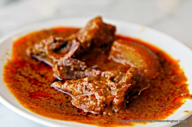 Definitely meat but was it considered Curry or Rendang?