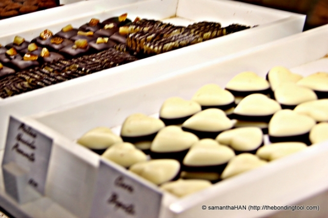 Cioccolatini (artisanal chocolates)