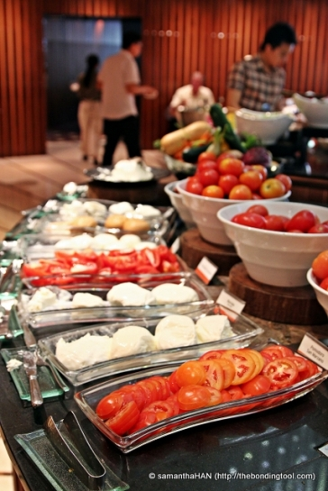 All kinds of Fresh Mozarella and Tomatoes.