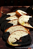 Angelo's (name of chef) Squid Ink Bread