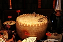 Grana Padano - the semi-aged hard Italian cheese, are maybe a cheaper knock-off of better known Parmigiana-Reggiano