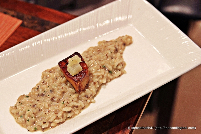 Truffle Risotto came plain but we'd top it with Foie Gras.