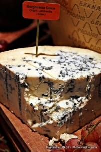 Gorgonzola Dolce - Lombardia (cow). One of my favourite with water crackers.