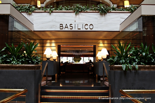 Basilico Restaurant - an oasis of calm, which offers supreme comfort and anticipatory service.