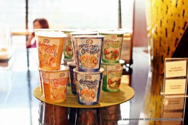 Instant Cup Noodles.