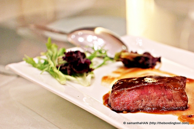 """Chinese Style Black Pepper Beef Steak - for lack of vocabulary, Iet's just say it will """"moo"""" in your ears."""