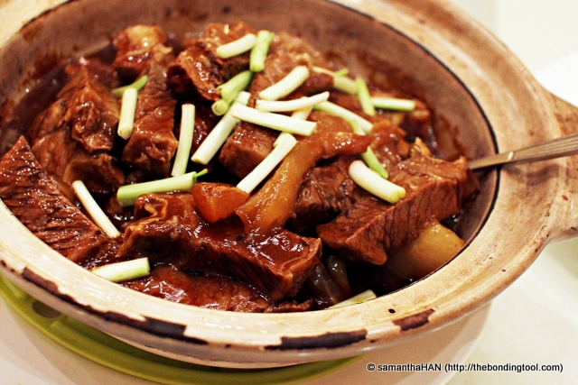 Beef Brisket casserole stewed with Tendons and Radish.