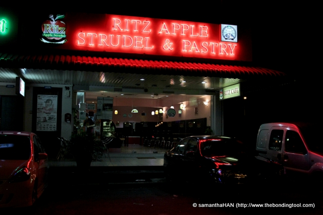 The first Ritz Apple Strudel was set up in 2000 located at Sixth Avenue, Bukit Timah, Singapore. They have branched out to 8 locations.
