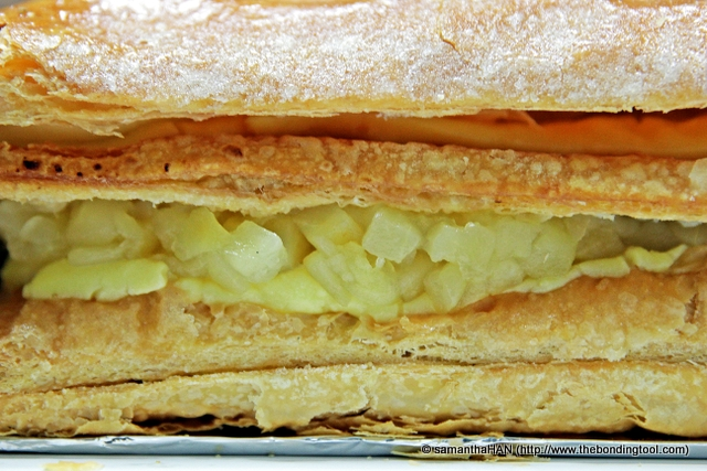 "Apple Strudel - 7.5"" for S$12.50."