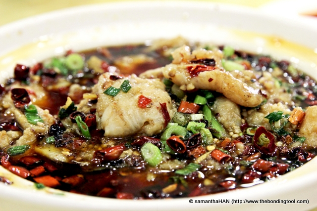 """Water-boiled"" Fish 水煮鱼."