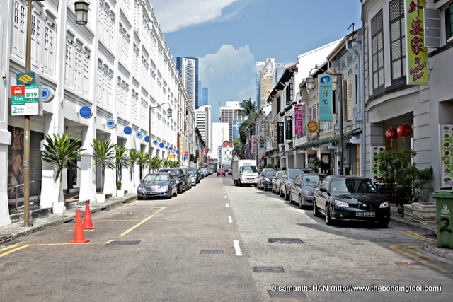 Mosque Street, Chinatown, Singapore.