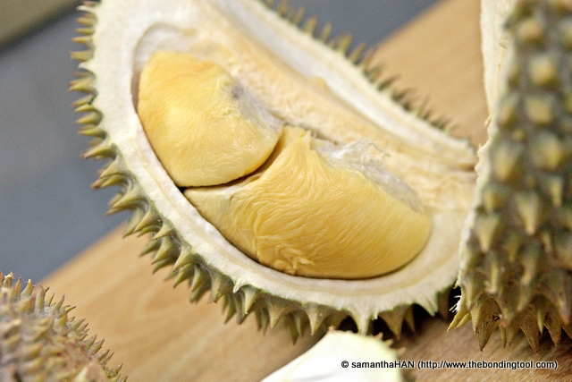 "A durian lover would describe the distinct fragrance of the King of Fruits like a sommelier describe a good bottle of wine. Some terms used and to be considered are whether the durians need to ""breathe"" a little before consumption and if the pulps have ""finishing"" afterwards."