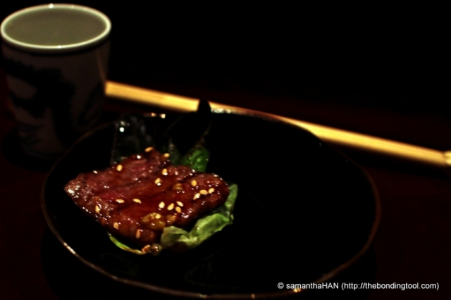 At one point, I thought the beef was spongey. Can it taste this way? Light yet chewy, not tough and stringy.