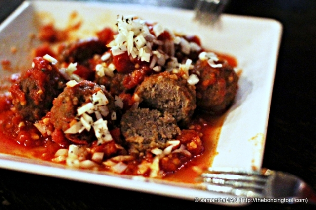 Simmered or baked, eaten on its own, with baguette or spaghetti, meatballs are fun food!