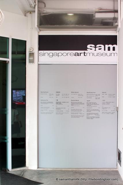 SAM Singapore Arts Museum.