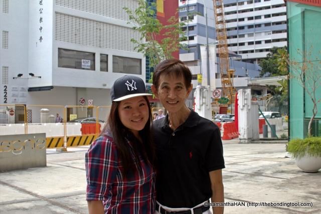 Vanessa and Grandpapa she called Gong Gong (公公).