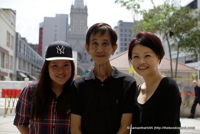 Vanessa, Dad and I. We're going to see Vanessa's exhibit which I mentioned in the Kudos For Crudos post.
