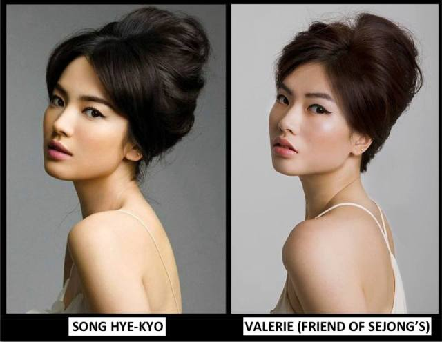 Valerie and Song Hye-Kyo©BondingTool
