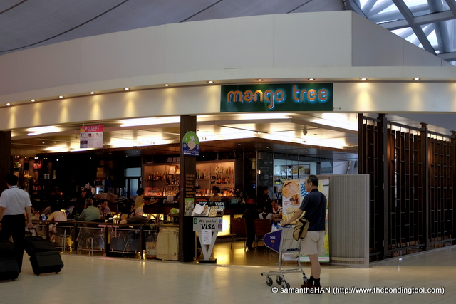 Mango Tree, a Thai restaurant managed by Coca restaurant group. This is its sixth branch following Bangkok, London, Tokyo, Korea and Malaysia.
