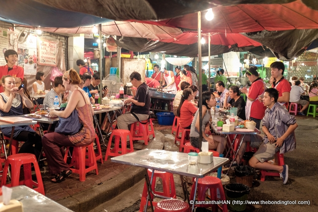 Chinatown, Bangkok, is a popular tourist attraction. It is a food haven for enthusiastic gourmands, like me, who flock here after sundown to explore the vibrant street cuisine.