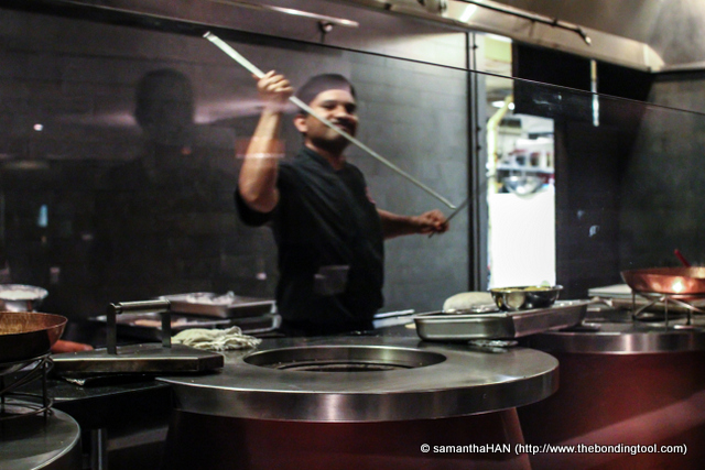 And the amazing tandoor Chef obliged :)