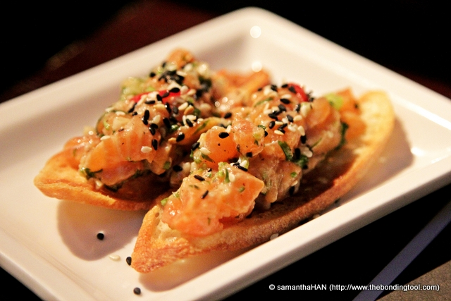 Salmon Ceviche - S$5