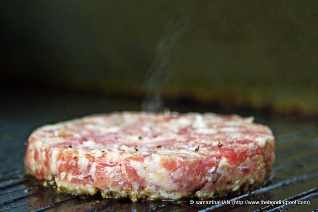 Let the burger sizzle!