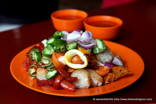 how to make indian rojak sauce
