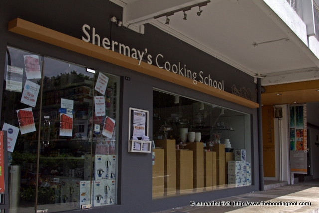 Shermay's Cooking School. Founded in 2003 to provide fun learning experience in chic cosy environment, Shermay also  use it as a platform for individuals of any culinary ability to learn practical tips from professional chefs, making them better cooks or simply to inspire them...