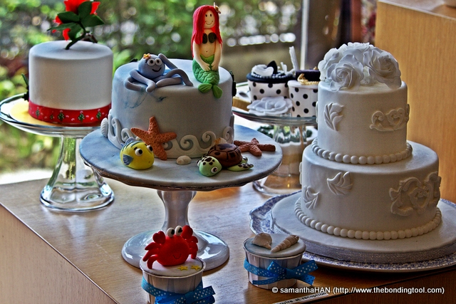 These are some of Chef Jackie's sugar craft creations.