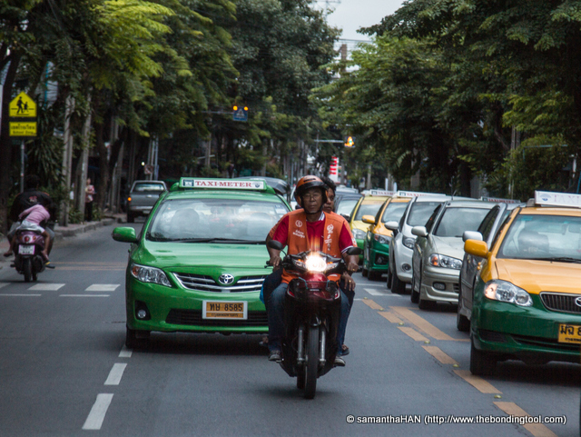 Traffic congestion in Bangkok, one of the worse in the world - this is not it!