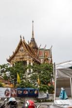 Wat Hua Lampong Temple. Rama 4 Road, Bangkok, Thailand.