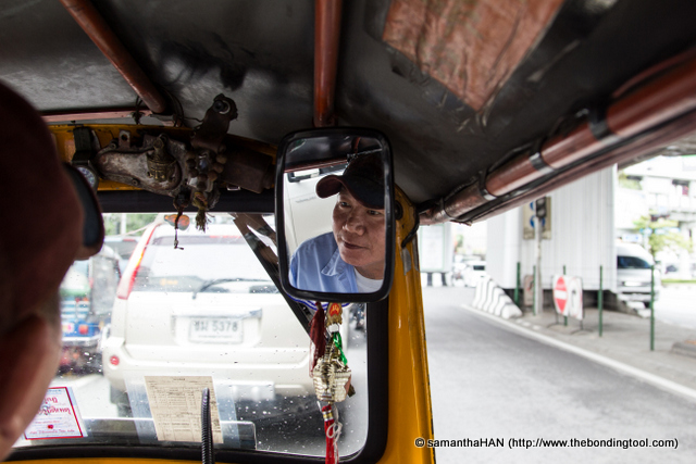 """""""MBK, 120 baht?"""" """"Hop in!"""""""